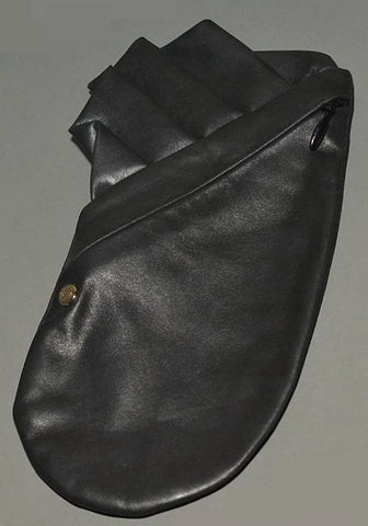 BLESS NO.13 COSTUME JACKET POCKET BLACK LEATHER-50%OFF SALE