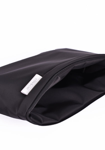 COTE&CIEL 28855 CLUTCH & TOTE BAG ZAAN SLEEK BLACK - DOSHABURI Shop
