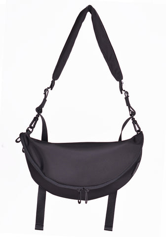 COTE&CIEL 28853 SMALL CROSSBODY BAG HALA SLEEK BLACK - DOSHABURI Shop
