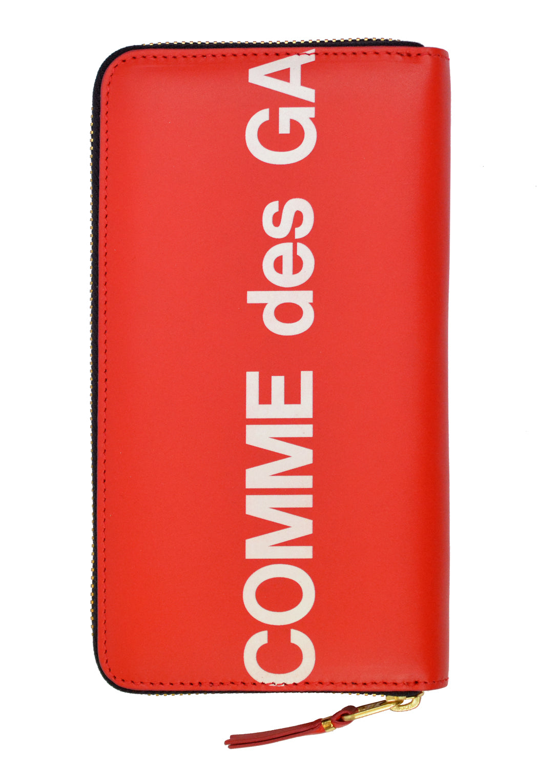 COMME DE GARCONS SA0111HL UNISEX WALLET HUGE LOGO RED - DOSHABURI Shop