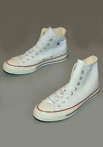 CONVERSE CHUCK TAYLOR ALL STAR '70 HI SNEAKERS WHITE - DOSHABURI Shop