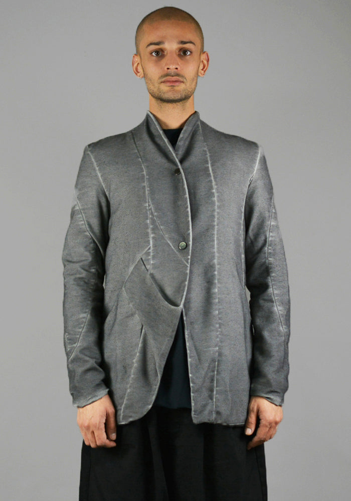 FIRST AID TO THE INJURED ASINA JACKET GRANITE GREY 18FW | SALE 50%OFF | DOSHABURI Shop