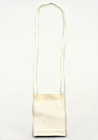 GUIDI PKT1 SOFT HORSE FULL GRAIN PASSPORT BAG WHITE | DOSHABURI Online Shop
