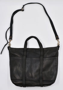 GUIDI SH6 SOFT HORSE FULL GRAIN LEATHER TOTE BAG BLACK | DOSHABURI Online Shop