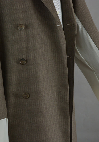 HED MAYNER HMC301-BRW DB COAT BROWN - DOSHABURI Shop