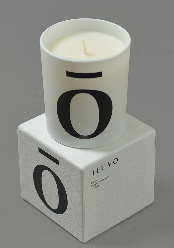 IIUVO scented candle WOODGRAIN - DOSHABURI Shop