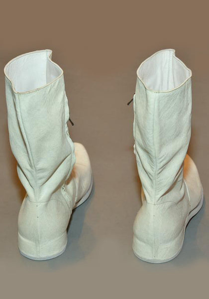 IS BY INDIVIDUAL SENTIMENTS MENS SIDE ZIP BOOTS DIRTY WHITE - DOSHABURI Shop