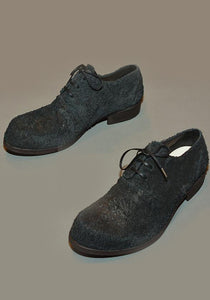 IS BY INDIVIDUAL SENTIMENTS UNISEX LEATHER DERBY SHOES BLACK - DOSHABURI Shop
