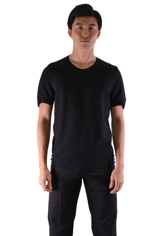 INDIVIDUAL SENTIMENTS CT61S-LJ41 UNISEX TUCK T-SHIRT BLACK | DOSHABURI Online Shop