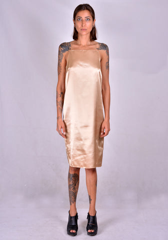 KWAIDAN EDITIONS AW20WD039W-PS SLIP DRESS NUDE 2020FW | DOSHABURI Online Shop