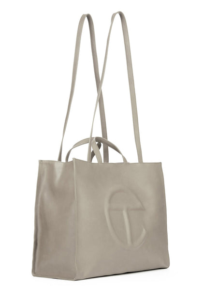 TELFAR TF-12-GY-L SHOPPING BAG LARGE GREY | DOSHABURI Online Shop