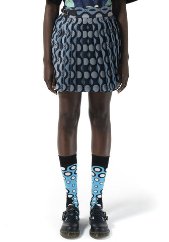 CHARLES JEFFREY LOVERBOY CJLSS21MKM MINI KILT SKIRT CATERPILLAR JAQUARD | DOSHABURI Online Shop