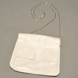m.a+ by Maurizio Amadei EXPANDABLE SMALL ACCORDION SHOULDER BAG WHITE - DOSHABURI Shop