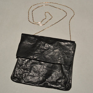 m.a+ by Maurizio Amadei CRINKLED LEATHER EXPANDABLE ACCORDION SHOULDER BAG - DOSHABURI Shop