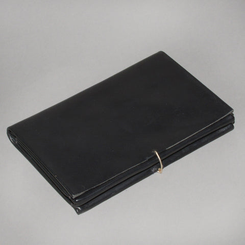 m.a+ by Maurizio Amadei X-LARGE WALLET HORSE LEATHER BLACK - DOSHABURI Shop