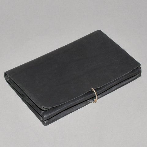 m.a+ by Maurizio Amadei X-LARGE WALLET COW LEATHER BLACK - DOSHABURI Shop