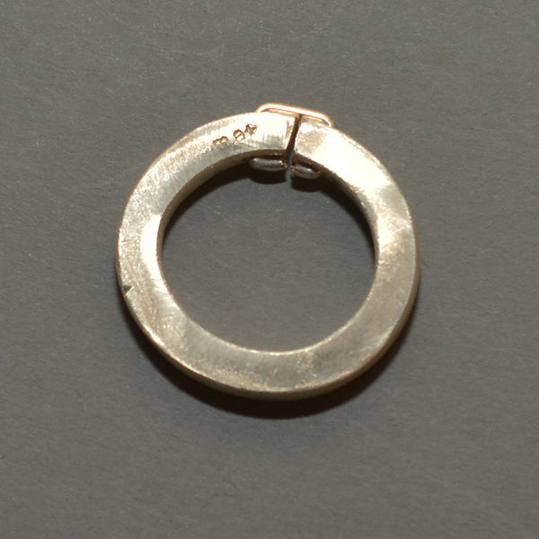 m.a+ by Maurizio Amadei STAPLE RING SILVER 925/1000 - DOSHABURI Shop