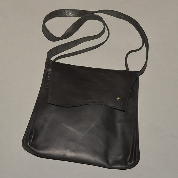 m.a+ by Maurizio Amadei EXPANDABLE ACCORDION SHOULDER BAG BLACK COW LEATHER - DOSHABURI Shop