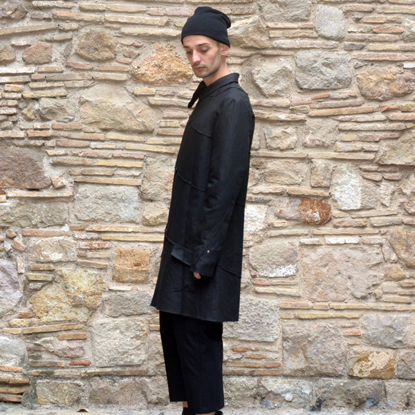 m.a+ by Maurizio Amadei SPIRAL BODY COAT BLACK-DOSHABURI Online Shop