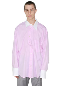 MAGLIANO H28006722 TWISTED SHIRT ITALIAN CERIMONI LIGHT PURPLE 20SS-DOSHABURI Online Shop