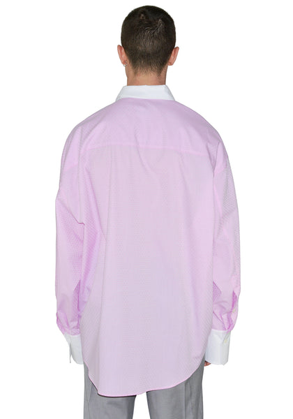 MAGLIANO H28006722 TWISTED SHIRT ITALIAN CERIMONI LIGHT PURPLE - DOSHABURI Shop