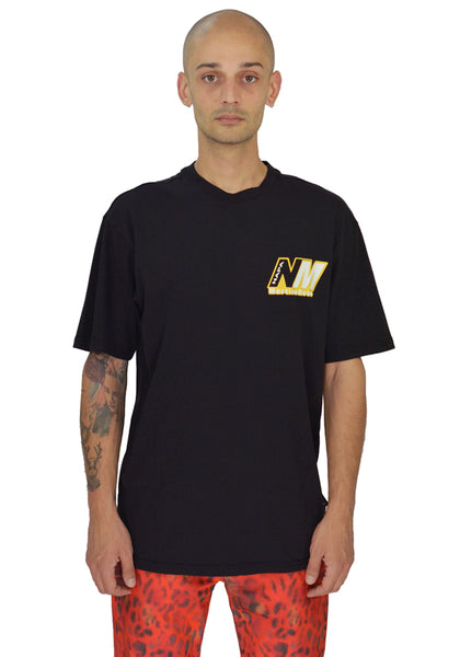 NAPA BY MARTINE ROSE N0YKDF04R T-SHIRTS BLACK - DOSHABURI Shop