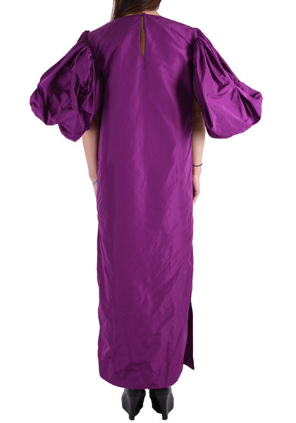 PAULA CANOVAS DEL VAS D002 TECH DRESS PURPLE - DOSHABURI Shop