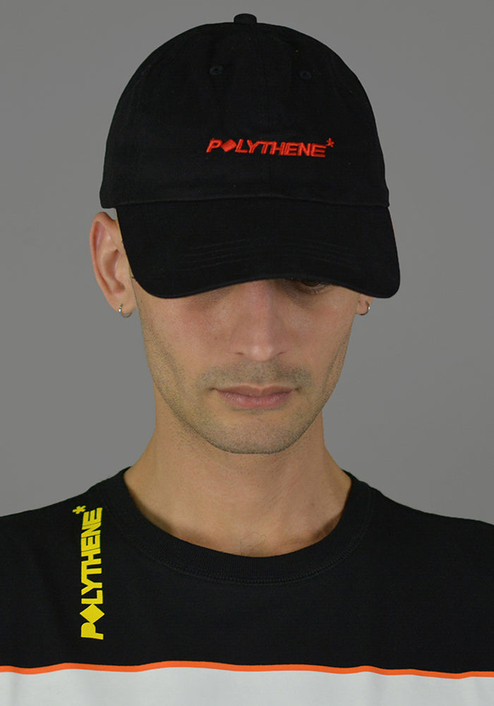 POLYTHENE* OPTICS POC02BLK LOGO CAP BLACK - DOSHABURI Shop