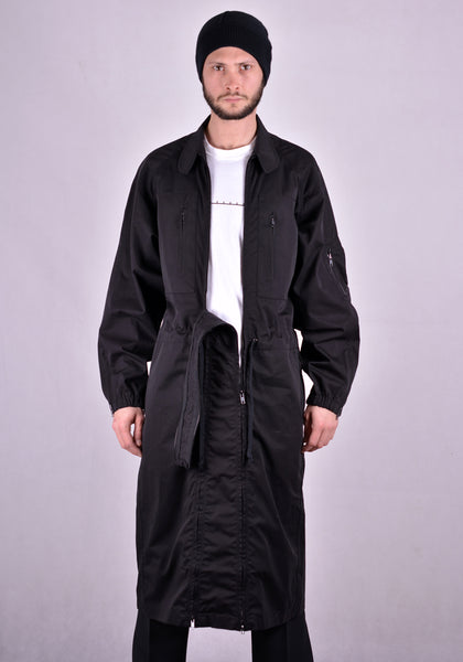 RANDOM IDENTITIES SW-18A VERSATIL DRESS COAT BLACK | DOSHABURI Online Shop