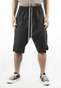 RICK OWENS RU21S6383 TE 09 BLACK BASKET SWINGER SHORTS BLACK 2021SS | DOSHABURI Online Shop