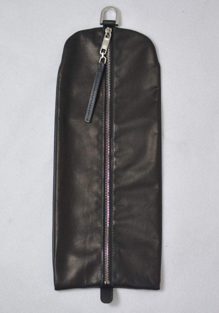 RICK OWENS RR19F4402 LBL BIG BLADDER WALLET BLACK 19FW-DOSHABURI Online Shop