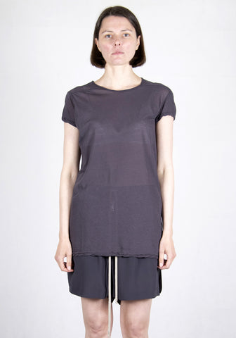 RICK OWENS RP21S3203 UC 76 LEVEL SHORT SLEEVE T-SHIRTS PLUM 2021SS | DOSHABURI Online Shop