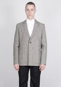 STEFAN COOKE SCSS21JA1 TAILORED JACKET GREY 2021SS | DOSHABURI Online Shop
