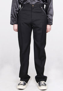 STEFAN COOKE SCSS21TR1 TROUSERS WITH ZIP POCKETS BLACK | DOSHABURI Online Shop