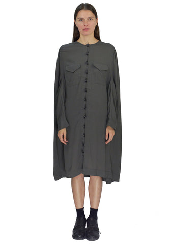 SITUATIONIST OVERSIZE DRESS GREY 2019FW-DOSHABURI Online Shop