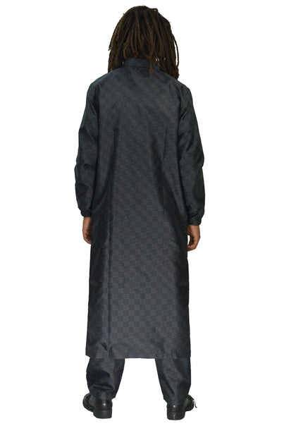 SSS WORLD CORP LONG COAT BLACK - DOSHABURI Shop