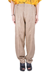 VEJAS 2002-PHANTOM TROUSERS BEIGE - DOSHABURI Shop