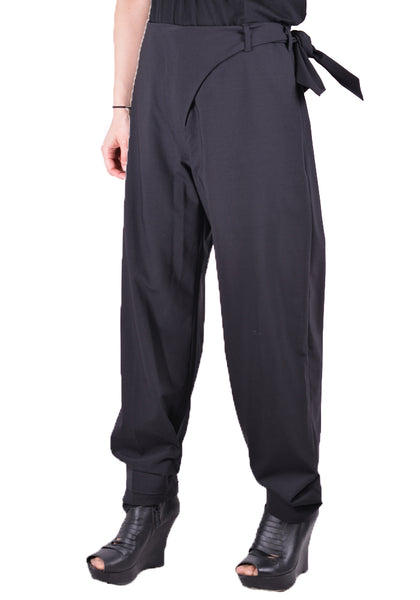 VEJAS 2006-RAZOR TROUSER BLACK - DOSHABURI Shop