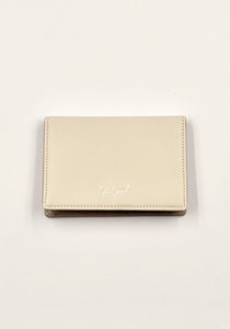YOHJI YAMAMOTO DISCORD DD-A07-705 LEATHER CARD HOLDER LIGHT GREY | DOSHABURI Online Shop