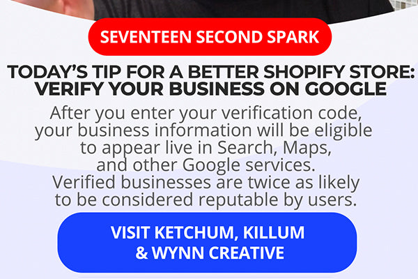 Verify your Shopify website on Google for better SEO