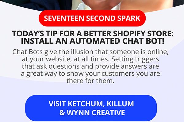Install a Chat Bot in your Shopify Store for Increased Sales