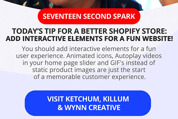 Add Interactive Elements for a Fun Shopify Website!