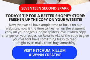Now Is The Time To Freshen Up The Copy On Your Shopify Site!