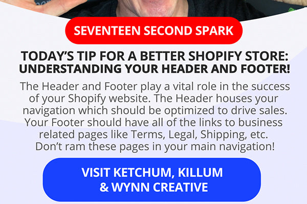 Understanding the Importance of the Header and Footer on your Shopify Website!