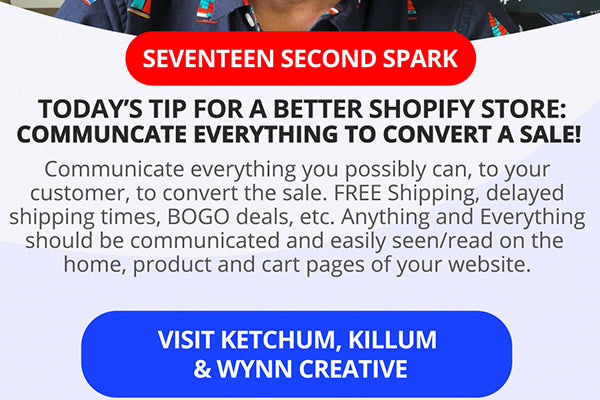 Communication Is Vital For Conversions In A Shopify Store