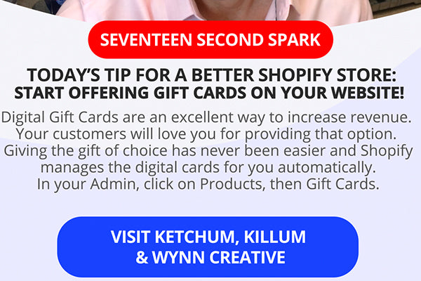 You Should Start Offering Gift Cards On Your Shopify Website!
