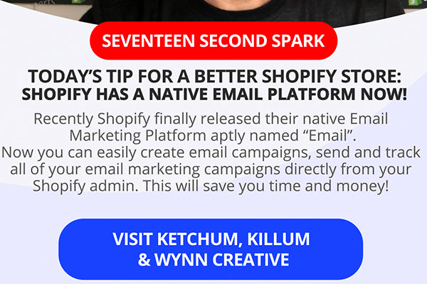 Shopify Has Its Own Email Marketing App Right In Your Shopify Admin!