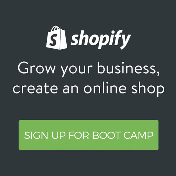 Shopify Admin Training Boot Camp