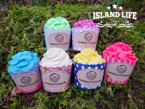 4 Pack Cupcakes - Island Life Soap