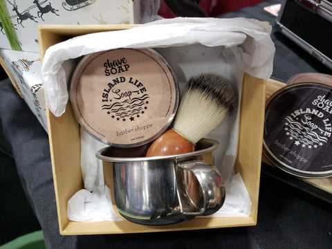 Wet Shave Soap Kit - Island Life Soap